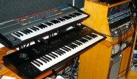 Korg Wavestation EX & Juno 106
